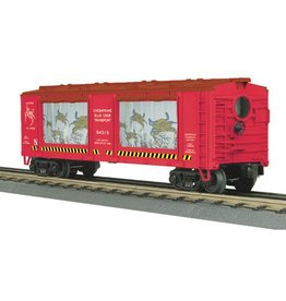 MTH - RailKing 3079469	 - 	AQUA OP CAR CHES BLUE CRAB III