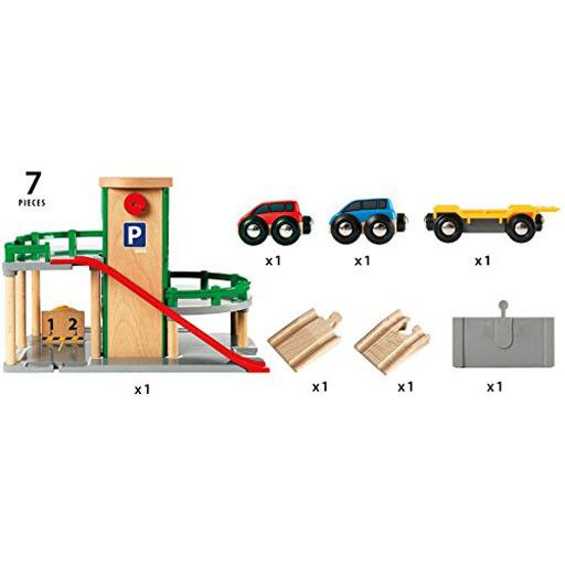 Garage Brio brio brio - parking garage - bussinger trains