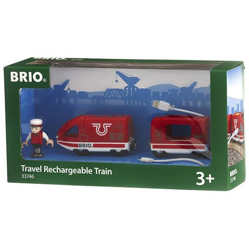 BRIO BRIO - TRAVEL RECHARGABLE TRAIN - USB