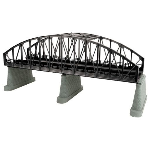 MTH - RailKing 401111 - ARCH BRIDGE 2 Tr BLACK
