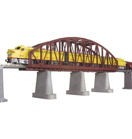 MTH - RailKing 401103	 - 	Arch Bridge Rust 1 track