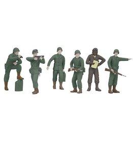 MTH - RailKing 3011059 - ARMY Figure 6pc Set
