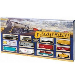 BACHMANN 614 OVERLAND LIMITED SET with SMOKE  - HO