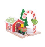 Big Jig Toys Candy Crane - Wooden Trains Accessory