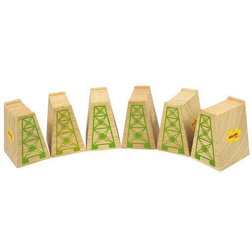 Big Jig Toys HIGH LEVEL BLOCKS  - for Wooden Track