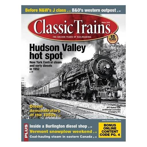 2016	 - 	CLASSIC TRAINS WINTER 2015