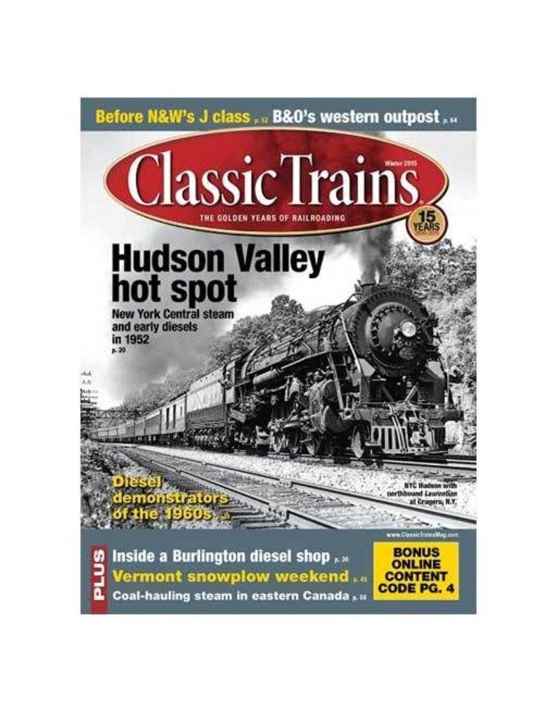 2016 - CLASSIC TRAINS WINTER 2015