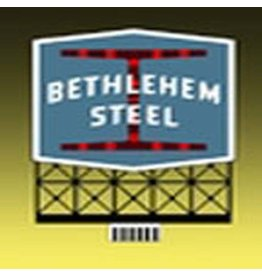 Miller Engineering 5281	 - 	SIGN BETHLEHEM STEEL