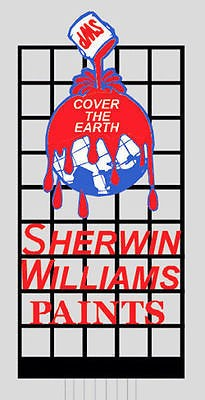 Miller Engineering 9981	 - 	SIGN SHERWIN WILLIAMS