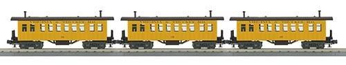 306432 - PASSENGER 3 CAR OVERTON V & T