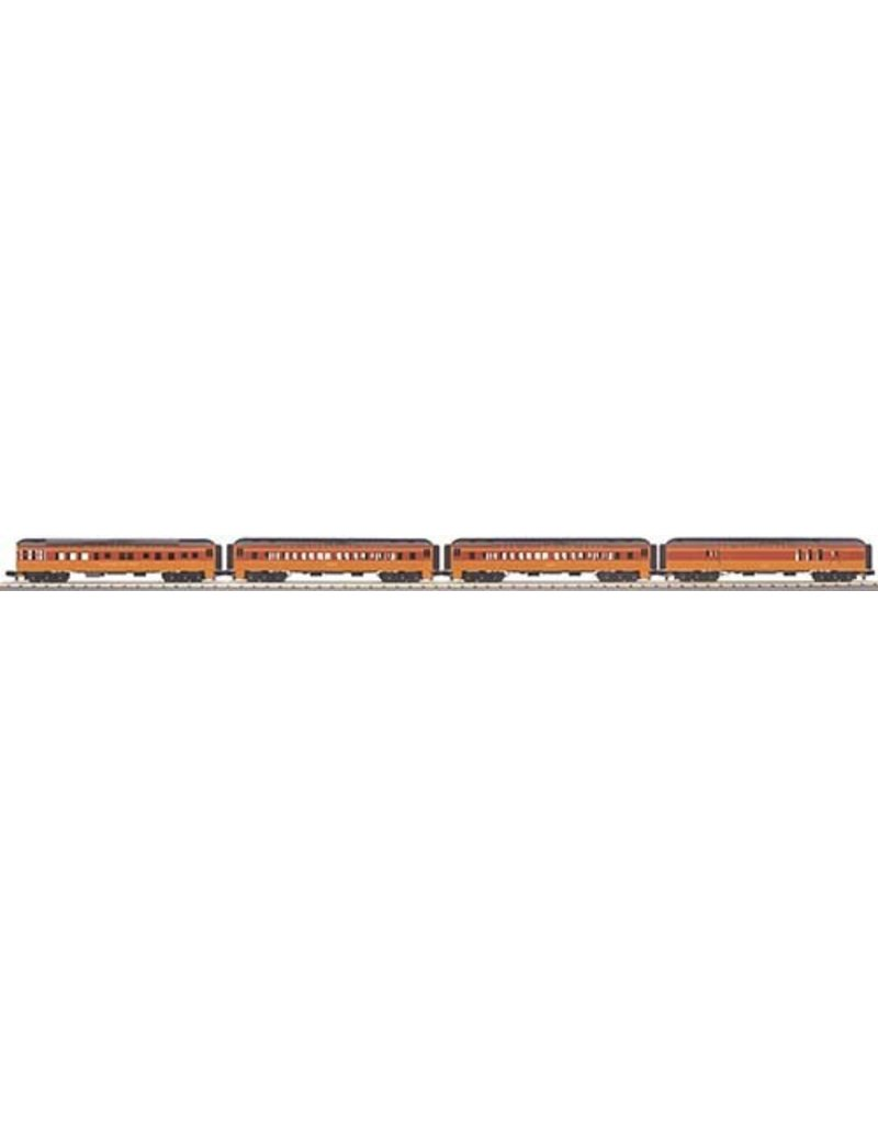306979	 - 	PASSENGER 4 CAR MILWAUKEE ROAD