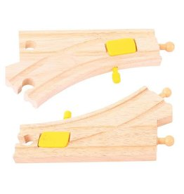 Big Jig Toys MECHANICAL SWITCHES - WOODEN TRACK