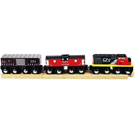Big Jig Toys CN TRAIN - WOODEN TRAIN SET