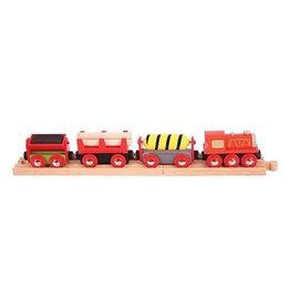 Big Jig Toys SUPPLIES TRAIN - WOODEN TRAIN SET