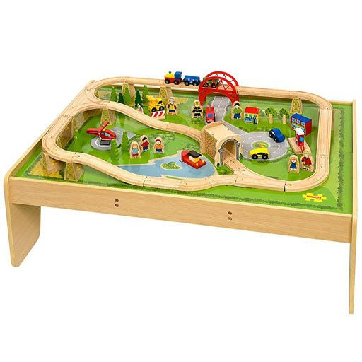 Big Jig Toys SERVICES TRAIN SET \u0026 TABLE - WOODEN PLAYSET ...  sc 1 st  Bussinger Trains & Big Jig Toys SERVICES TRAIN SET \u0026 TABLE - WOODEN PLAYSET - Bussinger ...
