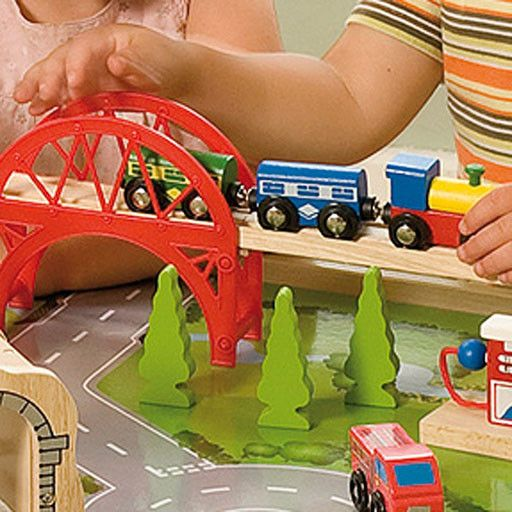 ... Big Jig Toys SERVICES TRAIN SET \u0026 TABLE - WOODEN PLAYSET ... & Big Jig Toys SERVICES TRAIN SET \u0026 TABLE - WOODEN PLAYSET - Bussinger ...
