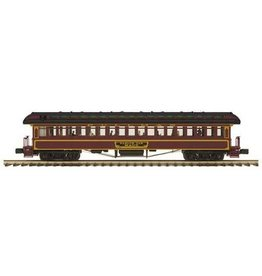 MTH - Premier 2062064	 - 	COACH CAR PRR 64' WOODSIDED