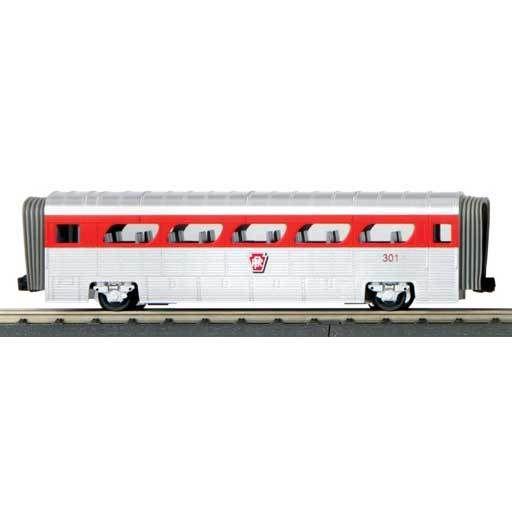 MTH - RailKing 306178 -  COACH CAR PRR AEROTRAIN