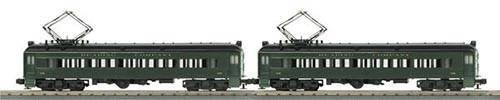 3026503 - Passenger MU 2 CAR Set Green