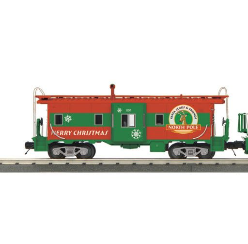 MTH - RailKing 30-20360-1  -  Christmas Diesel Engine & Caboose Set