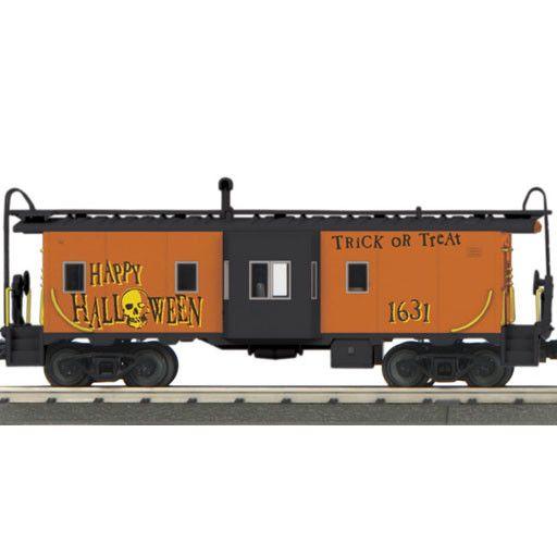 MTH - RailKing 30-20359-1  -  HALLOWEEN DIESEL ENGINE & CABOOSE SET