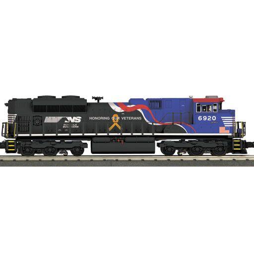 MTH - RailKing 30-20362-1  - NORFOLK SOUTHERN VETERANS DIESEL ENGINE & CABOOSE SET