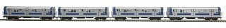 MTH - HO 8023471 - MTA R17 4CAR Subway Set w/PS 3.0