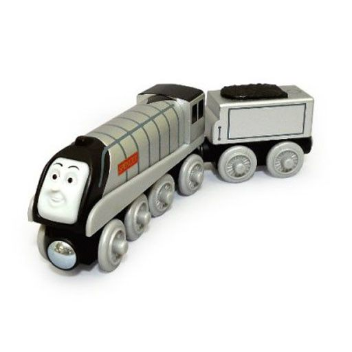 Thomas the Tank SPENCER Battery Operated - Wooden Thomas the Tank - Fisher Price