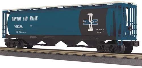 3075365 - HOPPER CAR B&MAINE 4-BAY CYL