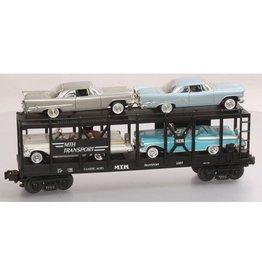 MTH - RailKing 307676 - Auto Carrier W/CHRYSLER & MERCS