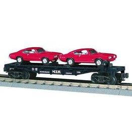 MTH - RailKing 307639 - AUTO TRANSPORT W/2 68 GTO'S