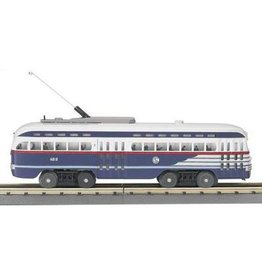 MTH - RailKing 3025211	 - 	 Chicago PCC Electric Street Car w/Proto-Sound 2.0