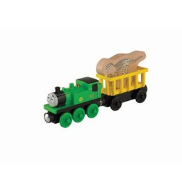 Thomas the Tank OLIVER'S FOSSIL FREIGHT - Wooden Thomas the Tank - Fisher Price