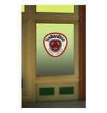 Miller Engineering 8865 - BALLANTINE WINDOW SIGN