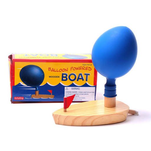 Schylling 2080 - BALLOON POWERED BOAT