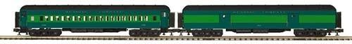 MTH 20-44031 2-Car Madison Baggage/Coach Set