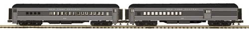 MTH 20-41014 2-Car 70' Madison Comb/diner Set