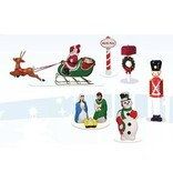 Lionel 6-37997 CHRISTMAS  LAWN FIGURE PACK