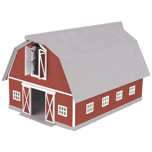 MTH - RailKing 309072	 - 	BARN RED & WHITE
