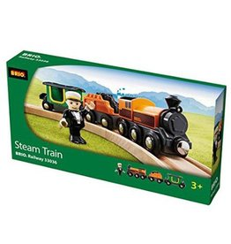 BRIO BRIO - STEAM TRAIN