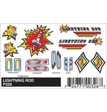 326	 - 	PINECAR DECAL LIGHTNING ROD