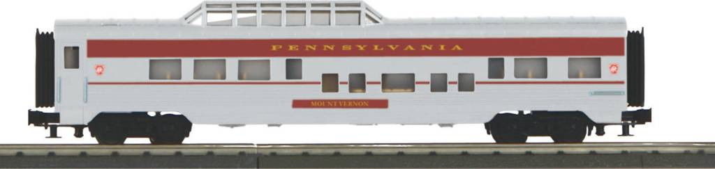 MTH - RailKing 30-67912 PRR 60' Streamlined Vista Dome Car