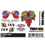 327	 - 	PINECAR DECALS TURBO RAM