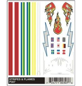 307 - DECALS STRIPES
