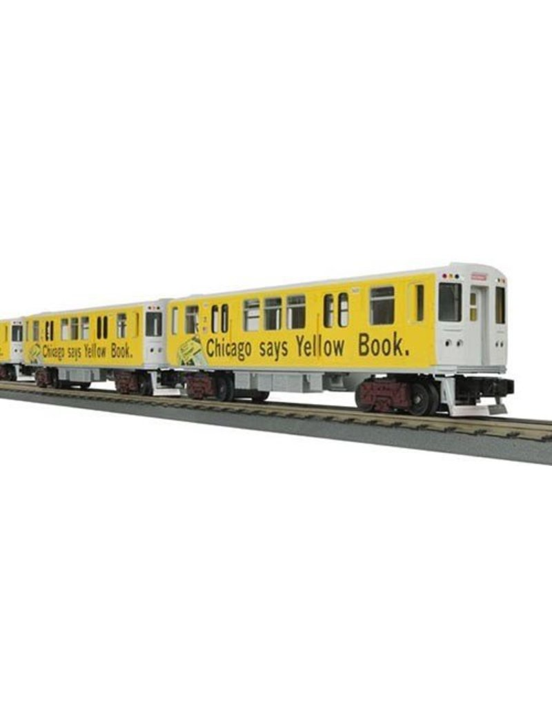 3024800	 - 	SUBWAY CHICAGO YELLOW BOOK