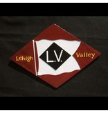 CUSTOM 26267	 - 	LEHIGH VALLEY DIAMOND Emblem Plate - COLOR VARIATIONS
