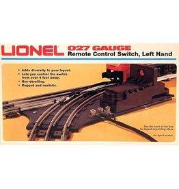 Lionel 65121 - LIONEL 0-27 REMOTE LEFT HAND