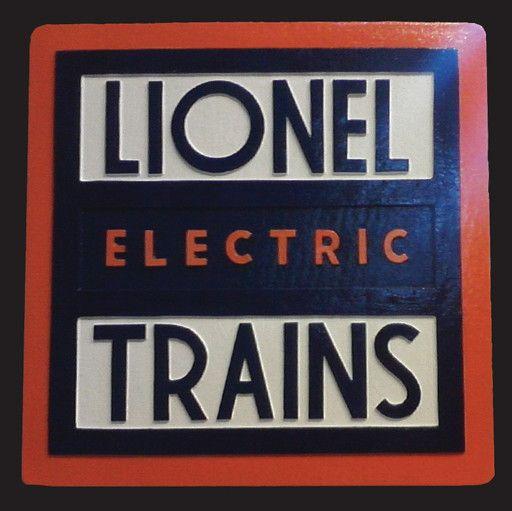 CUSTOM 26277 - LIONEL ELECTRIC TRAINS - Emblem Plate