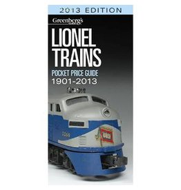 Kalmach Publishing 108714	 - 	LIONEL PRICE GUIDE 2013