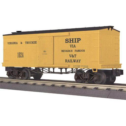MTH 3074237 - BOX CAR 19th CENTURY V & T